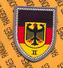 BRD GERMAN ARMY Defense Regional Command II SSI shoulder patch