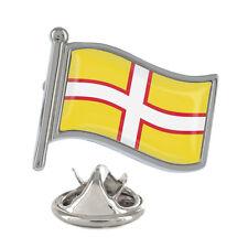 Dorset Wavy Flag Pin Badge English UK County Poole Bournemouth New & Exclusive