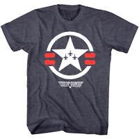 Top Gun Star Air Formation Men's T Shirt Paint Logo Air Force F14 Tomcat Jets