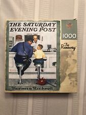 MasterPieces 1000 Piece Jigsaw Puzzle - The Runaway - Norman Rockwell