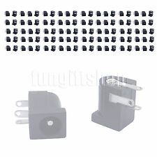 100pcs 5.5x2.1mm DC Power Supply PCB Mount Female Jack Socket Connector 3 pin
