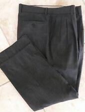 Zanella Pants Wool Trousers Wool Dark Gray 35 x 28 PERFECT
