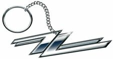 "ZZ Top ""Twin Zees"" Key Ring (100% Official Metal Keyring / Fob )"