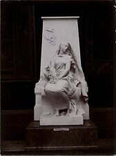 Sculpture de Mercié exposéeParis Exposition Universelle 1900 Vintage