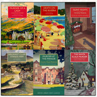 British Library Crime Classics Series 4 Collection 6 Books Set Murder of a Lady