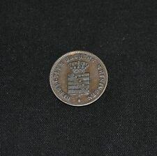 West Point Coins ~ 1854 1/2 Kreuzer Saxe-Meiningen 1 Year (240k Minted) KM#162
