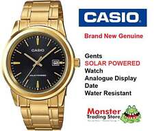 AUSTRALIAN SELLER CASIO MTP-VS01G-1AD SOLAR POWERED WITH DATE 12 MONTH WARRANTY