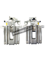 FITS VOLKSWAGEN POLO MK4 2001>2012 REAR LEFT & RIGHT BRAKE CALIPERS - NEW