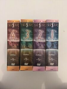 Farscape : Season 1 to 4 Full Box Set- Like New Condition Free Postage R4
