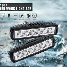 2×6inch LED Work Lights Bar Spot Rectangular Cree Fit For Jeep Wrangler JK 07~17