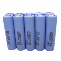10X 18650 Battery ICR 3000mAh High Drain 3.7V Li-ion Rechargeable for Vape Smok