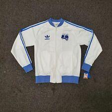 Adidas Orlando Magic Track Jacket Small White Blue 3 Stripe NWT