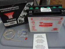 NOS Honda Yamaha Kawasaki Yuasa Yumicron 12v 20Amp Motorcycle Battery Y50-N18L-A