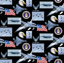 US AIR FORCE COTTON FABRIC-AIR FORCE QUILTING FABRIC-AIR FORCE FABRIC-100% COTTO