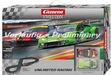 Carrera 25221 Evolution Unlimited Racing Rennbahn