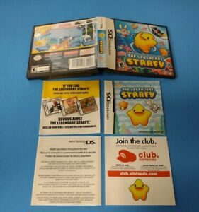 The Legendary Starfy - Authentic - Nintendo DS - Case / Box and Manual Only!