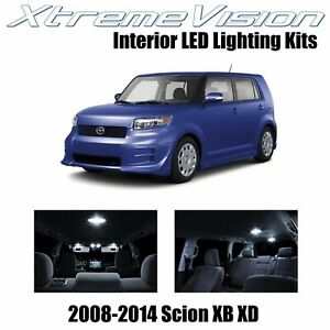 XtremeVision LED for Scion XB XD 2008-2014 (12 Pieces) Pure White Premium Interi