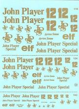 Decalbogen John Player Special -1:18 - 1:24 1:43 (127)