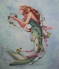 The Queen Mermaid  - Cross Stitch Chart - FREE POST