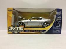 Jada Toys Big Time Kustoms 2010 Chevy Camaro SS 1:24 Diecast Metal Silver
