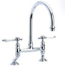 Horus Traditional Victorian Edwardian Sink Mixer Swivel Spout Handle Tap 19.141