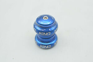 "Chris King Blue No Threadset 1 1/8"" Bike Threadless Headset Road Bike MTB"