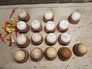 Vintage golf balls - mixed lot