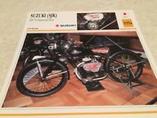 Fiche moto collection Atlas motorbike SUZUKI SJK DF 70 1954