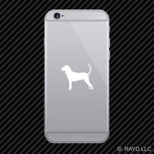 (2x) American Black and Tan Coonhound Cell Phone Sticker Mobile dog canine pet