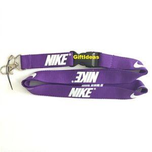Nike Lanyard Detachable Keychain iPod Camera Strap Badge ID  Adidas Jordan