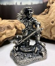 """Lord of the Rings LOTR-Tudor Mint Pewter """"Frodo Baggins"""" Figurine #5025-2001 VR"""