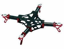 ZealHeli Blade Nano QX Red CNC Aluminum / Carbon Fiber Frame NQX001R