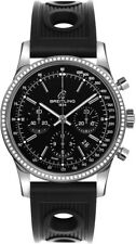 AB015253/BA99-200S | NEW BREITLING TRANSOCEAN CHRONOGRAPH 43MM DIAMOND WATCH