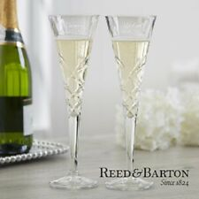 Reed & Barton Crystal Champagne Flute Set - #875756