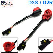 D2R D2S D2C HID Bulb Low Beam Headlight Converter Adapter for Retrofit Ballast