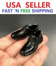 1/6 scale Black shoes HOLLOW for Custom 12'' Male Figure Body Doll Accessory
