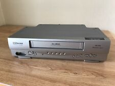 New ListingEmerson Ewv404 Vcr 4 Head Video Recorder Vhs Player Works