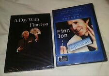 FINN JON 2 DVD MAGIC Thumb tip Thread Zombie Brainwave Bill Card Dice Silk Egg
