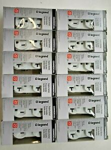 Lot of 12 Legrand Pass & Seymour Duplex Outlet 20 Amp 125V CRB5362-WCC12 311131