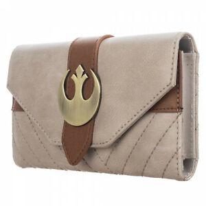 Star Wars Episode 9 Rey Flap Style Wallet Brown