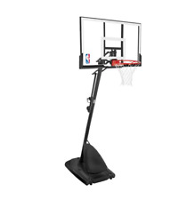 "Spalding 54"" Inground Basketball System Hoop Acrylic Backboard Adjustable Goal"