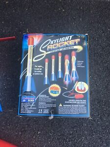 Skylight Rocket Air Powered Lighted Night Rockets Kit.