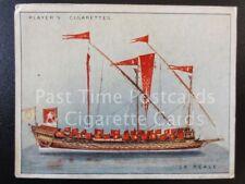 Single LA REALE, FRENCH ADMIRAL'S GALLET No10 'SHIP MODELS L20' John Player 1926
