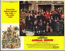 NATIONAL LAMPOON'S ANIMAL HOUSE orig 1978 lobby card movie poster JOHN BELUSHI