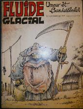 FLUIDE GLACIAL N°113 - BON ETAT - Edition Audie - Novembre 1985