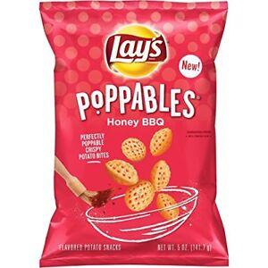Lay's Poppables Honey Barbecue Flavored Potato Snacks, 5 oz Bag