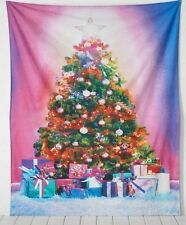 """NEW URBAN OUTFITTERS CHRISTMAS TREE TAPESTRY 56"""" X 84"""" NWT"""
