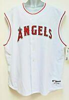 Los Angels Anaheim Angels Men's Majestic Authentic Sleeveless Vest Jersey Sz 56
