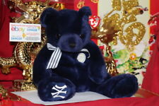 Ty World Class The Ny Yankees Exclusive Beanie Buddy Bear-2004-Bad Tag-Nice Gift