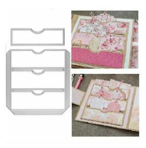 Metal Cutting Dies Scrapbook Paper Cards Cutter Pocket Embossing Stencils Mold